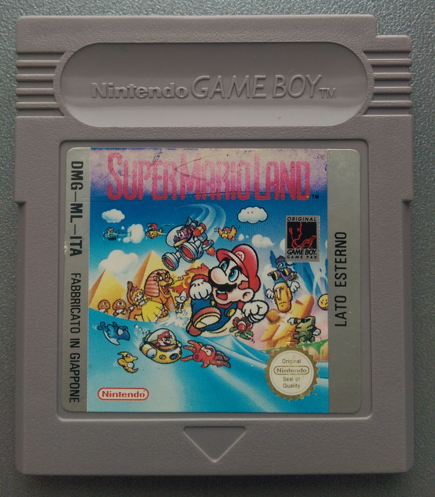 Super Mario Land (World) (Rev 1) - Game Boy hardware database