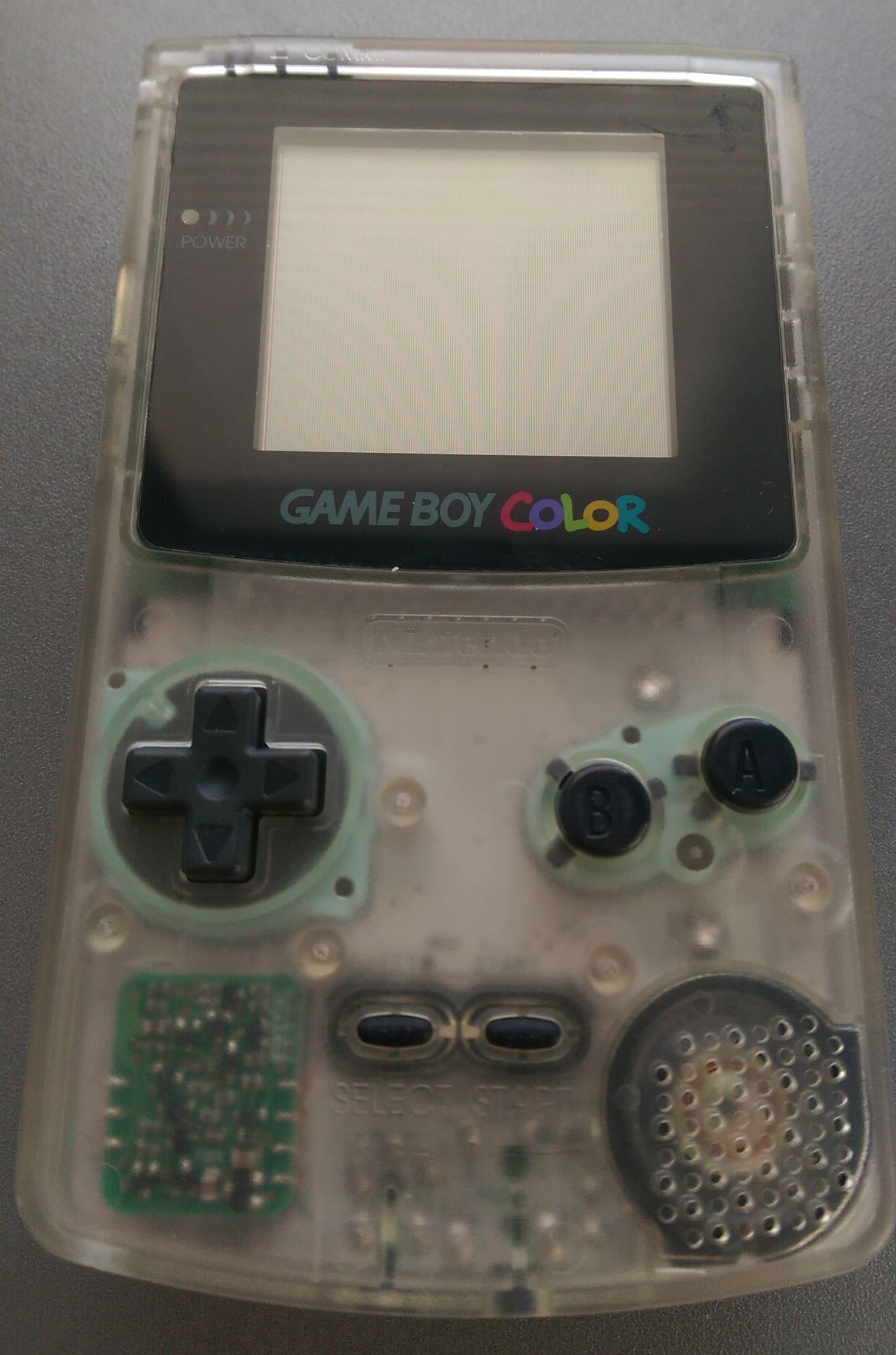Game Boy Color (CGB) - Game Boy hardware database